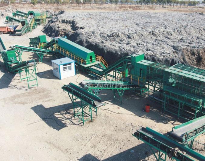 北京昌平龙虎台存量垃圾处理工程