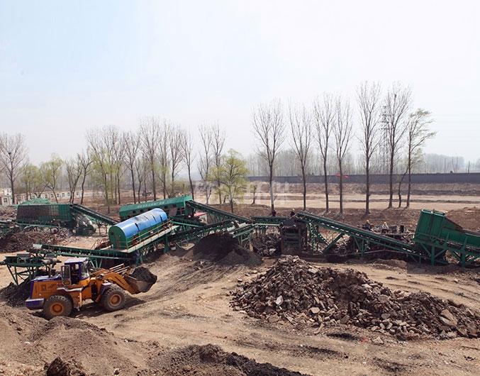 陕西榆林非正规垃圾填埋场治理工程