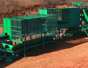 Positive pressure air separator